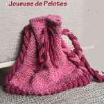 sac bonbonnière Gigi tricoté main
