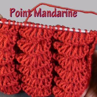 Joli point de Tricot - Point mandarine