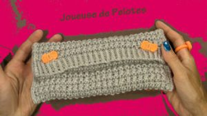 Trousse en Tricot main