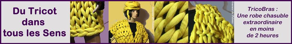 Tricoter une robe avec les bras