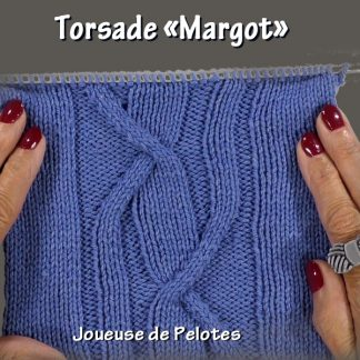 Joli point de Tricot - Torsade Margot
