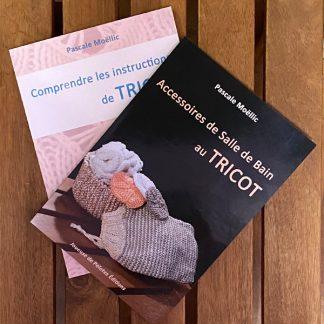 livres de tricot de joueuse de pelotes