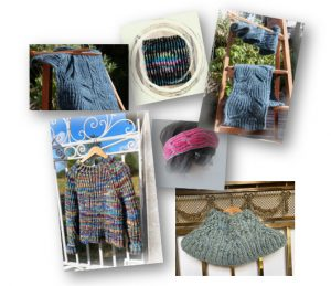 Modèles de tricot en côte anglaise