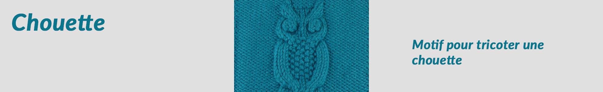 chouette au tricot